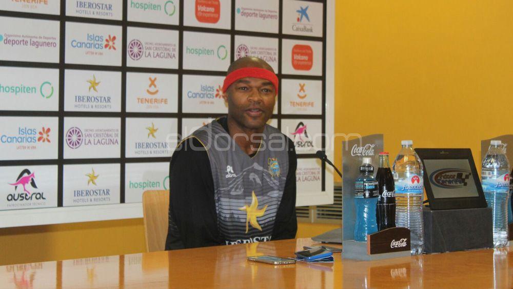 """Kirksay: """"Iberostar Tenerife no tiene ninguna presión, y seguirá jugando con mentalidad de campeón"""""""