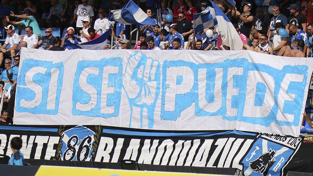 La victoria del CD Tenerife ante el Real Oviedo, en imágenes