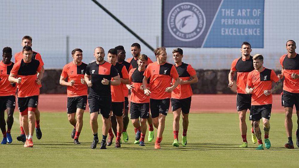 El Liverpool FC realiza una concentración en el Tenerife Top Training