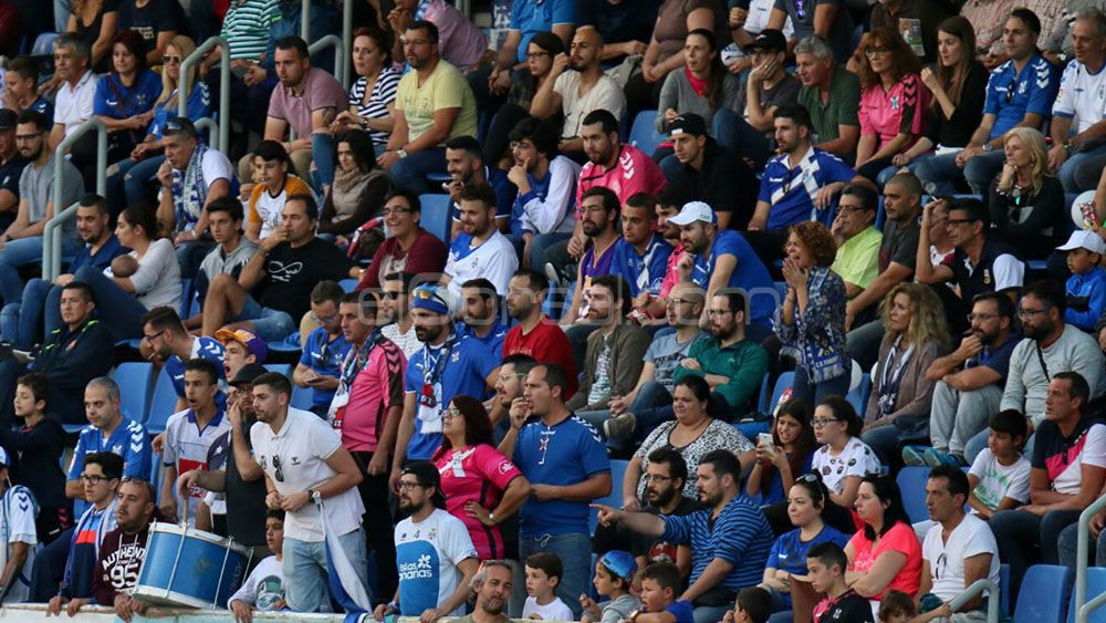 La afición debe marcar el primer gol del CD Tenerife ante el Girona