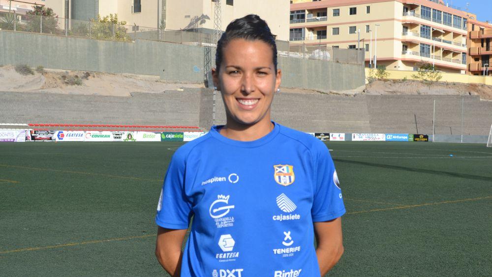 """Silvia Doblado: """"La UDG Tenerife está demostrando ante los grandes el nivel que tiene"""""""