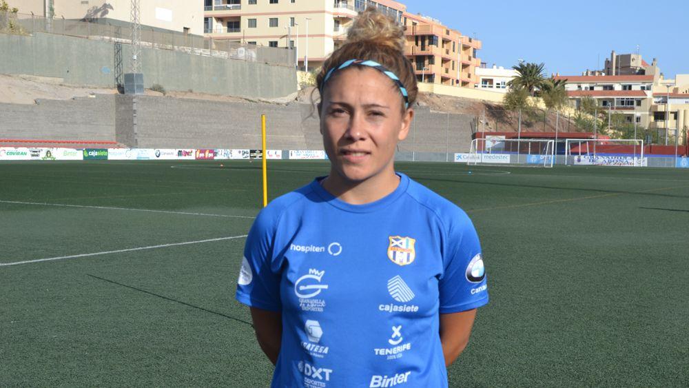 """Sara Tui: """"El Athletic cuenta con jugadoras 'top', pero confiamos en la victoria ante nuestra afición"""""""