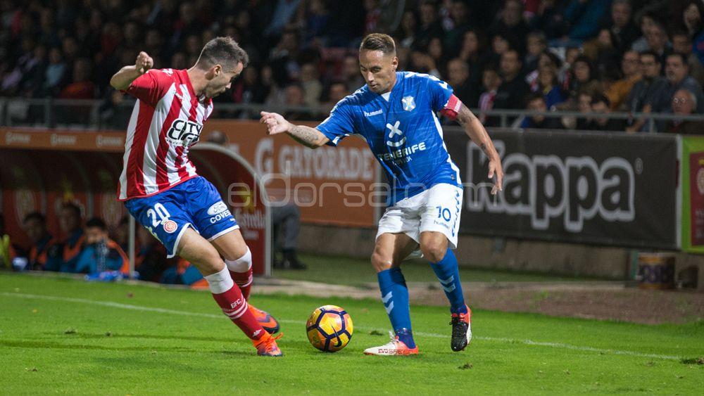 CD Tenerife – Girona, duelo de gallitos en el Heliodoro