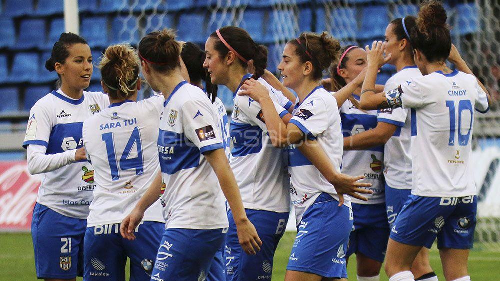 La UDG Tenerife, en busca de las semifinales de Copa de la Reina frente al Levante
