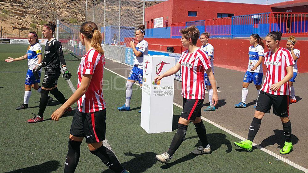 La UDG Tenerife, al asalto de Lezama