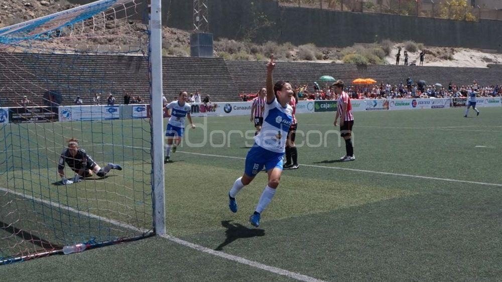 La UDG Tenerife golea al actual campeón de la Liga Iberdrola, el Athletic Club