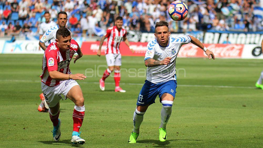 El 'uno por uno' del CD Tenerife contra el Girona