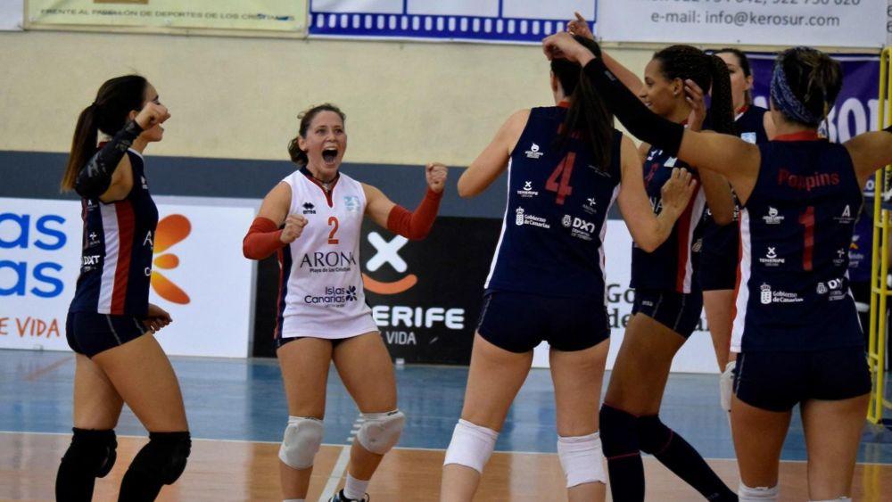 El Gobierno de Canarias felicita al CV Arona Tenerife Sur por su ascenso a la Superliga Femenina