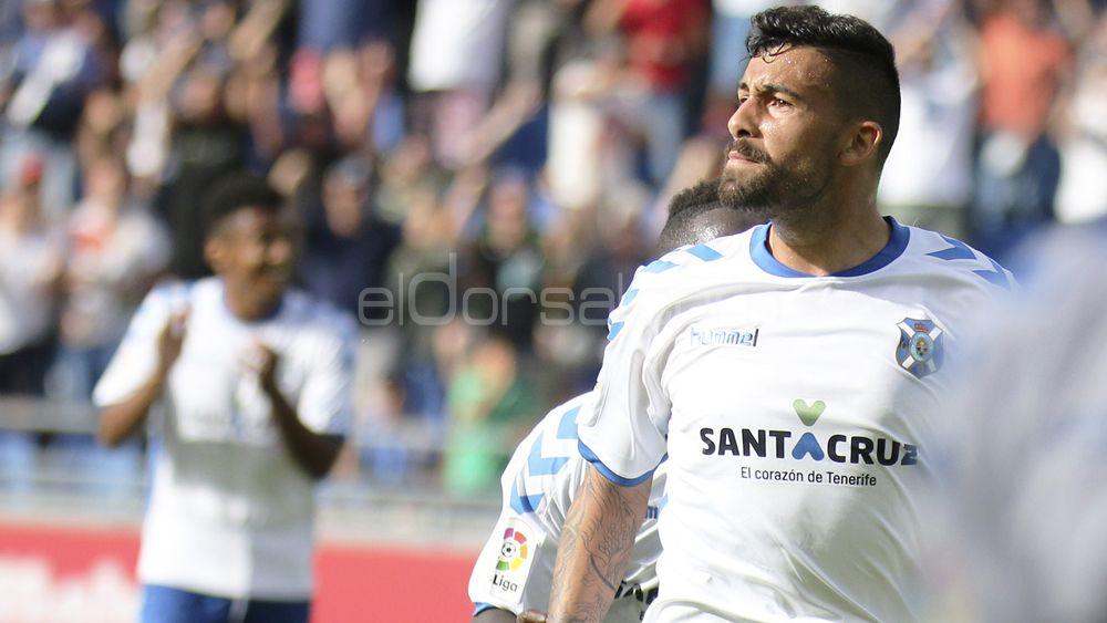Alberto Jiménez, muy cerca de renovar con el CD Tenerife hasta 2020