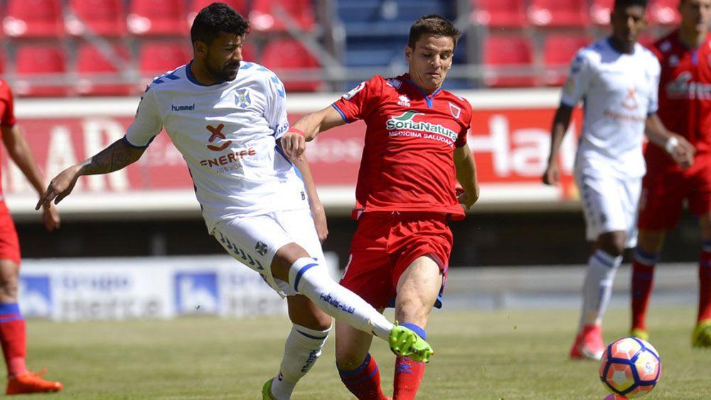 El 'uno por uno' del CD Tenerife contra el CD Numancia