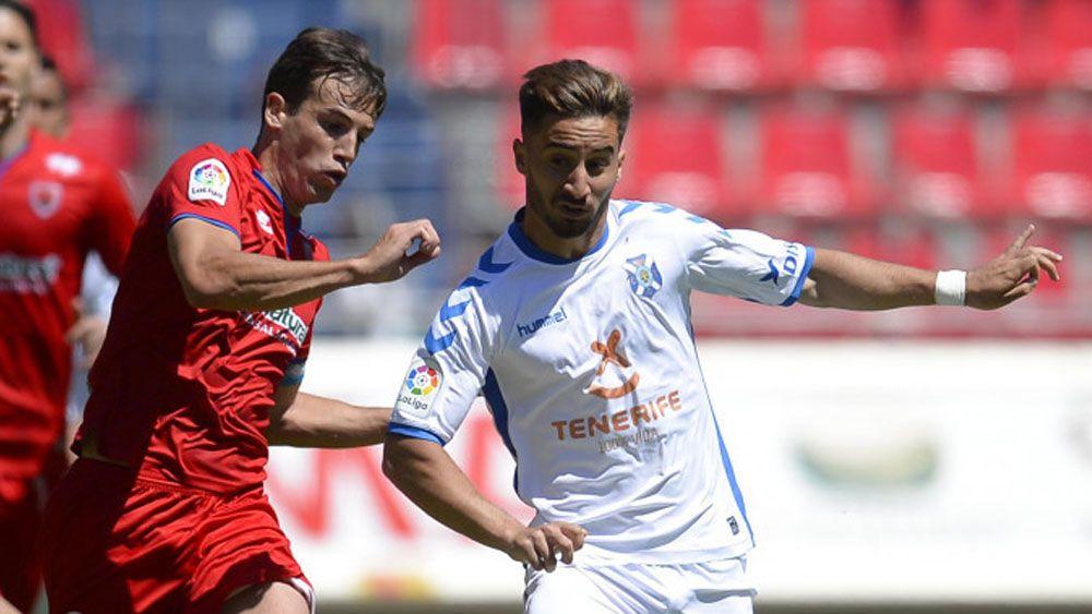 El CD Tenerife deja escapar dos puntos ante el Numancia