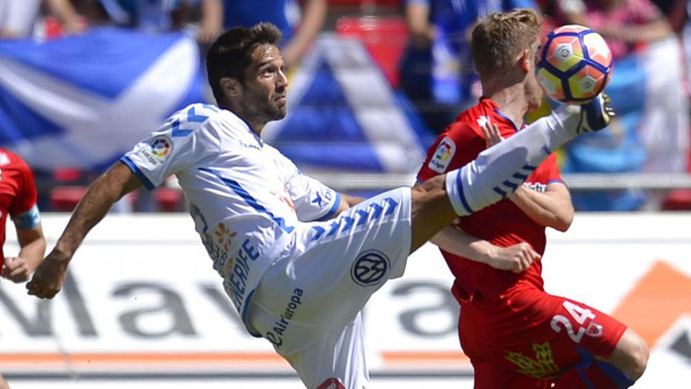 Aitor Sanz, la otra mala noticia del CD Tenerife en Soria
