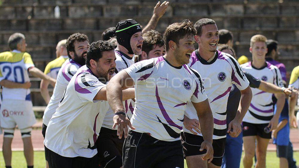 La final de la Liga Canaria de Rugby, en imágenes