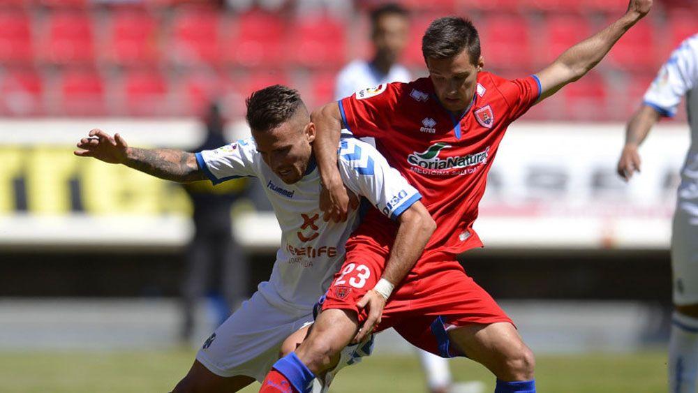 Aarón Ñíguez, elegido MVP por la afición del CD Tenerife