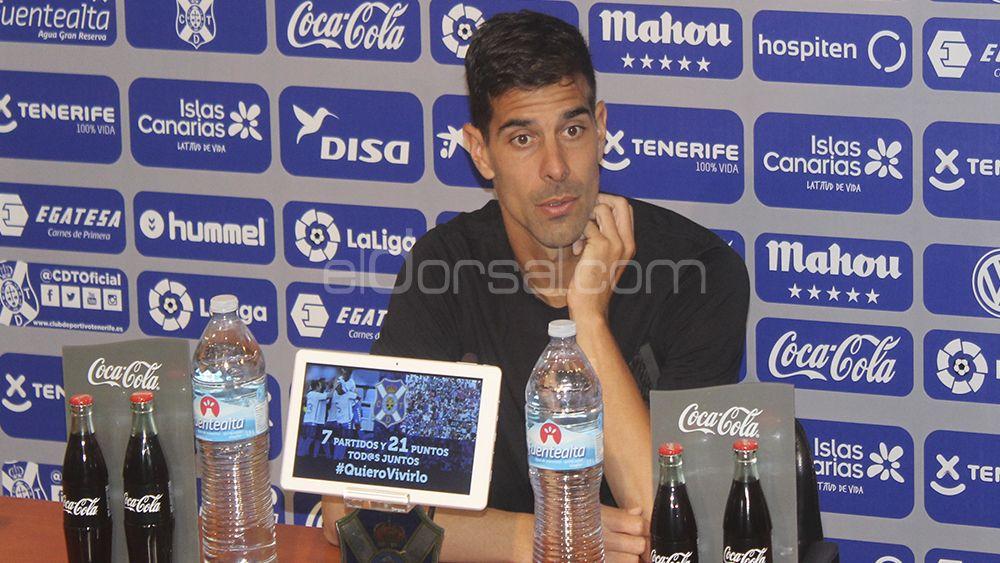 """Dani Hernández: """"Ojalá se pueda imponer nuestro estilo y podamos sumar los tres puntos"""""""