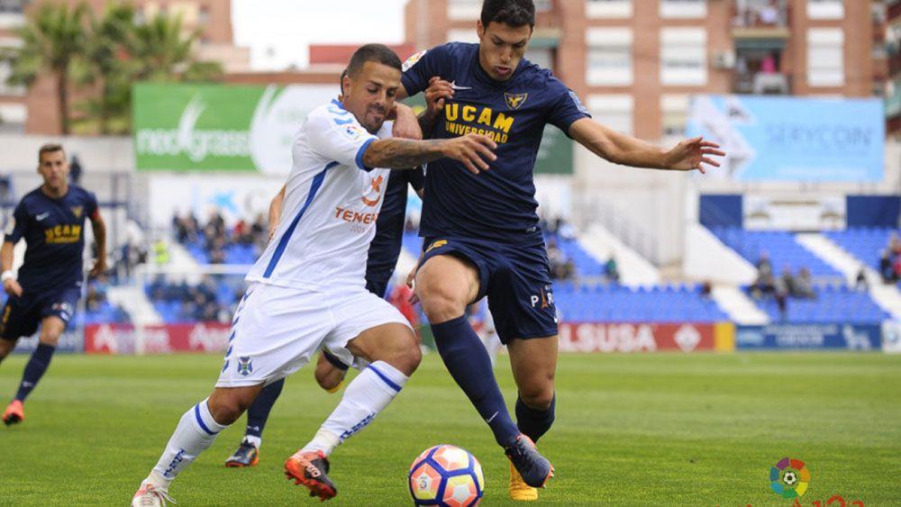 El 'uno por uno' del CD Tenerife contra el UCAM Murcia