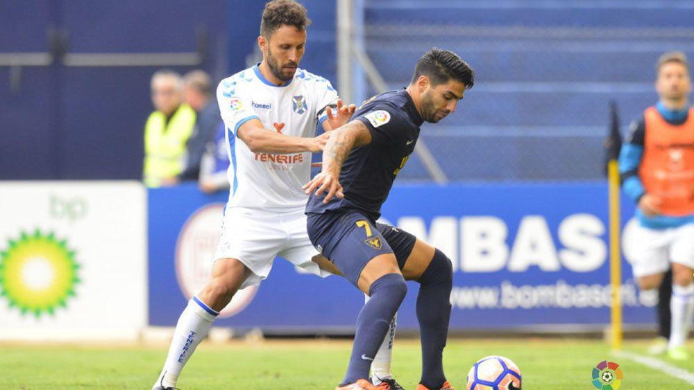 El incomprensible fallo de marca del CD Tenerife en el gol de la derrota