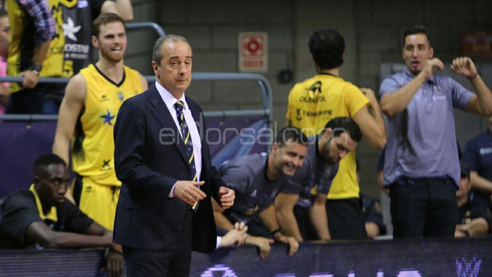 """Vidorreta: """"Estamos muy felices, chapó por Iberostar Tenerife por el gran trabajo defensivo"""""""