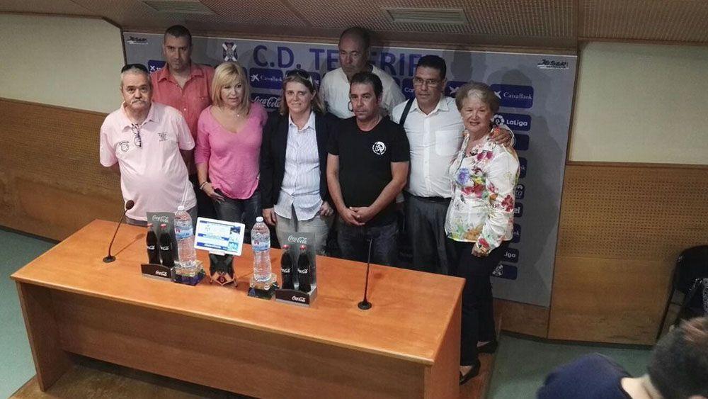 """La Federación de Peñas del CD Tenerife, refundada y con ánimos de """"llenar el Heliodoro"""""""