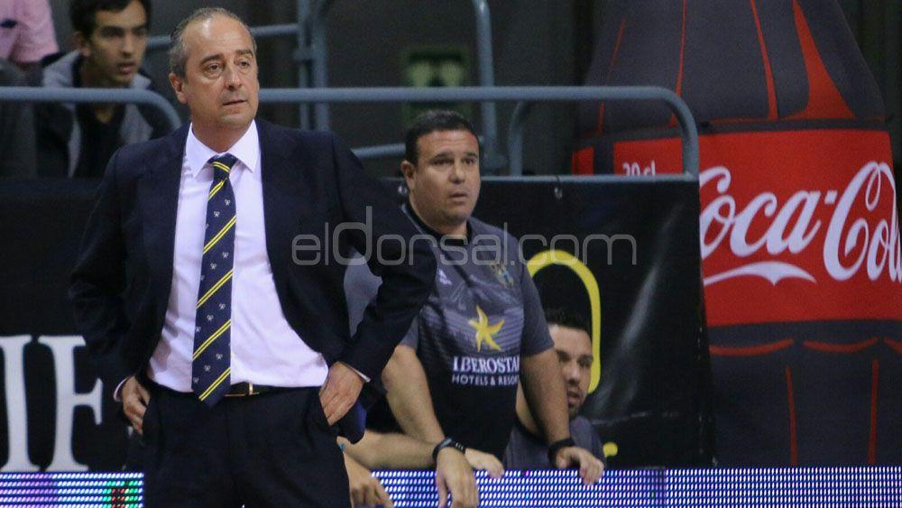 """Vidorreta: """"Estaremos la hostia de contentos si Iberostar Tenerife alcanza las 22 victorias"""""""