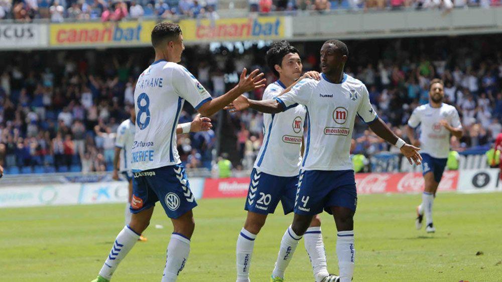 El CD Tenerife supera el examen ante el CD Lugo y se aúpa a la cuarta plaza
