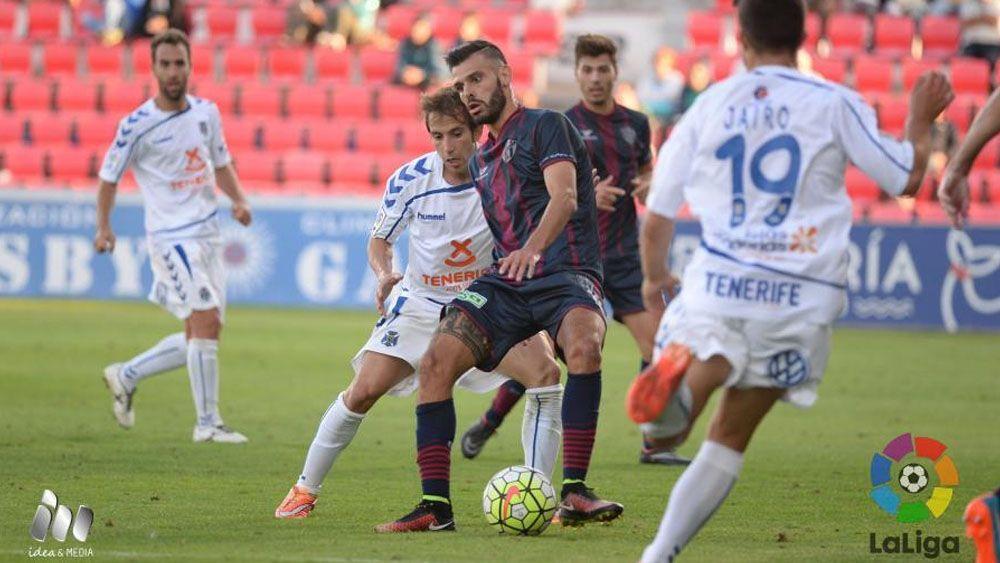 El CD Tenerife nunca ha perdido en El Alcoraz en Segunda División