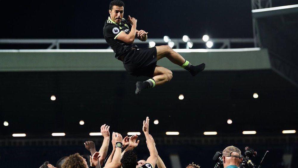 Pedro conquista su primera Premier League con el Chelsea
