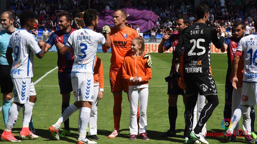 El 'uno por uno' del CD Tenerife contra la SD Huesca