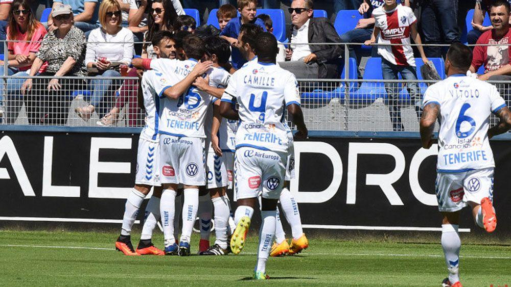 El CD Tenerife mantiene tres puntos de ventaja sobre el séptimo clasificado