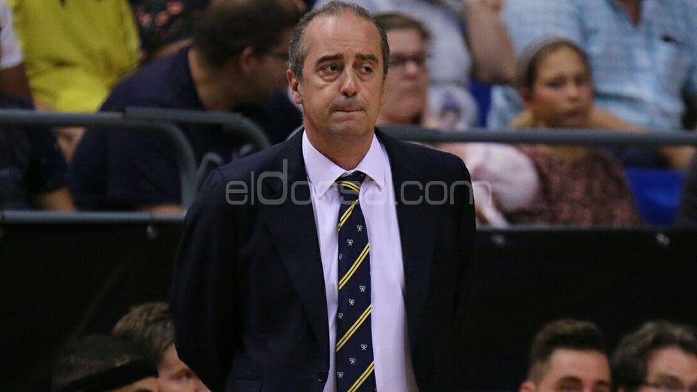 "Vidorreta: ""No tocaré ningún jugador más del Iberostar Tenerife"""
