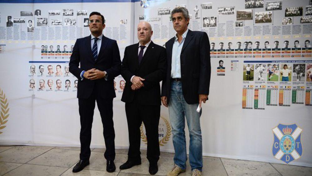 'Un paseo por la historia' del CD Tenerife