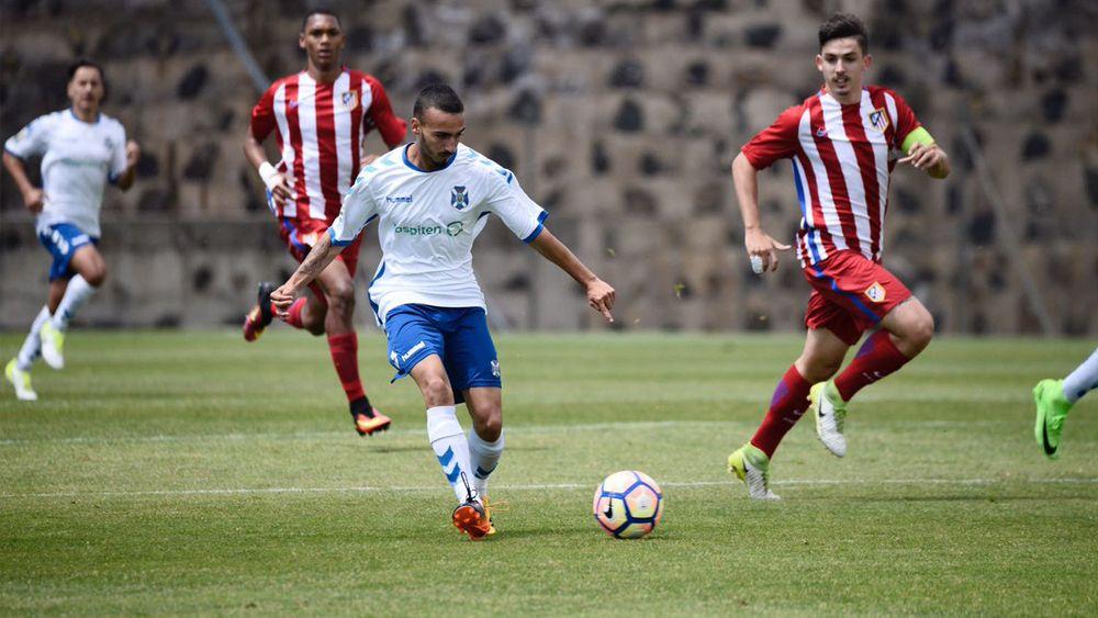 El CD Tenerife juvenil cae en octavos de final de Copa del Rey ante el Atlético de Madrid