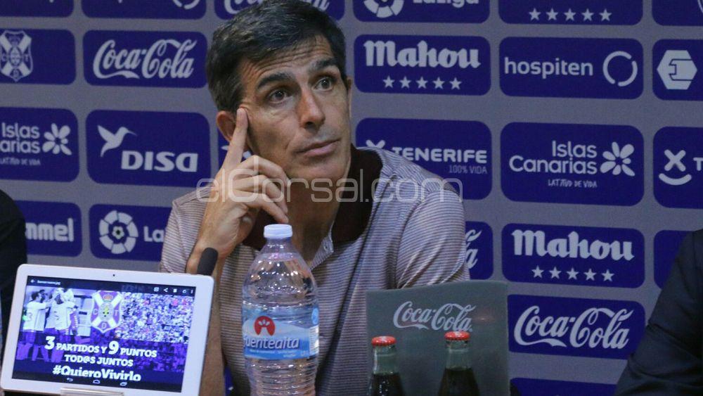 """Muñiz: """"El CD Tenerife es un equipo muy completo, estoy convencido de que luchará hasta el final por ascender"""""""