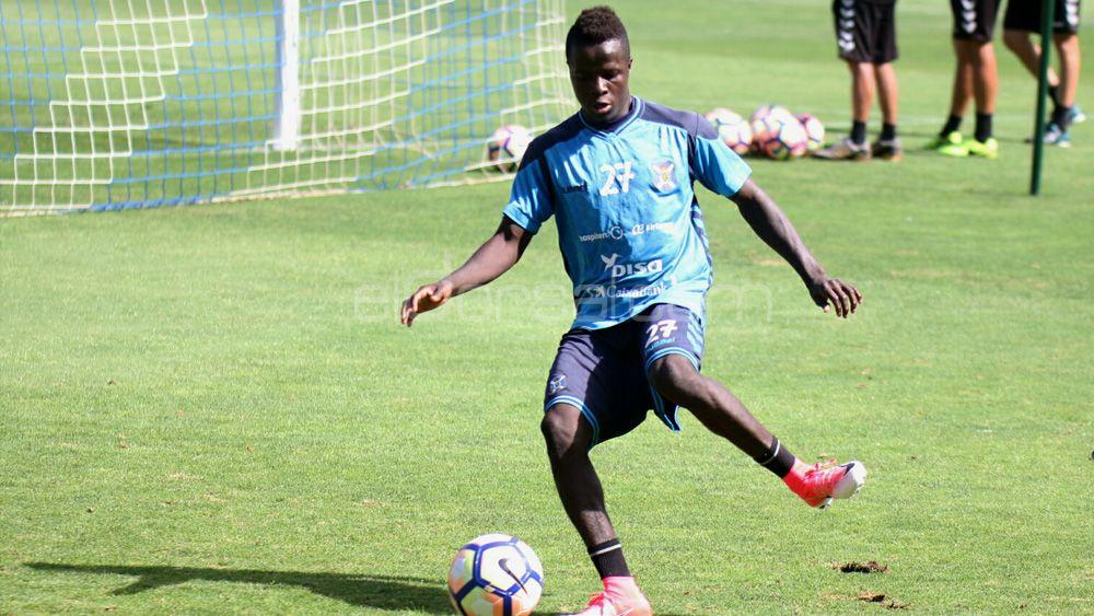 """Amath, """"listo y con fuerza"""" para encarar la recta final de temporada con el CD Tenerife"""