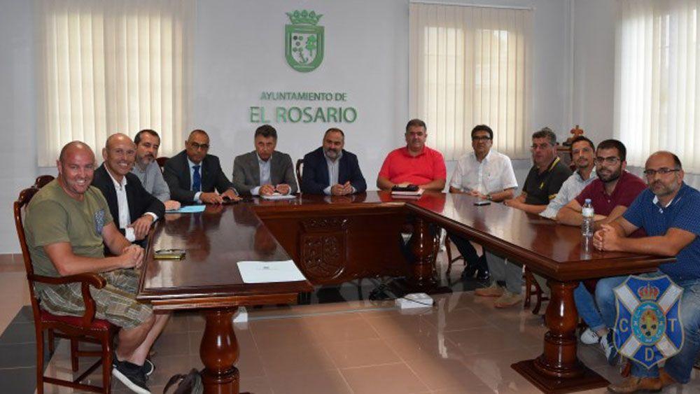 El CD Tenerife celebra su séptimo encuentro Proyecto +Base