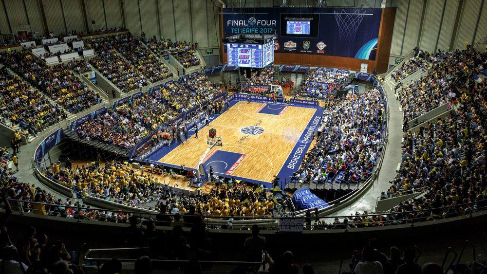 La Final Four de la Champions League de baloncesto generó 1,3 millones de euros en Tenerife