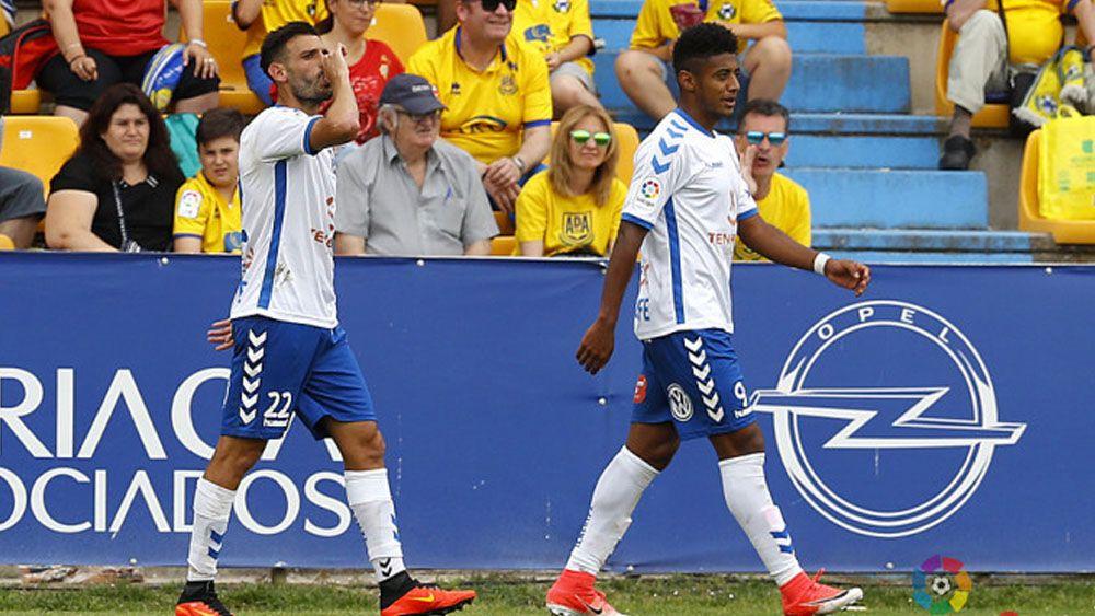 El estreno goleador de Tayron y Gaku Shibasaki con el CD Tenerife