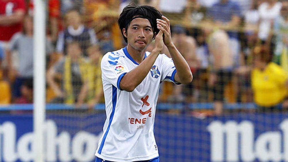 Gaku Shibasaki, elegido mejor jugador de la jornada 40 en Segunda División