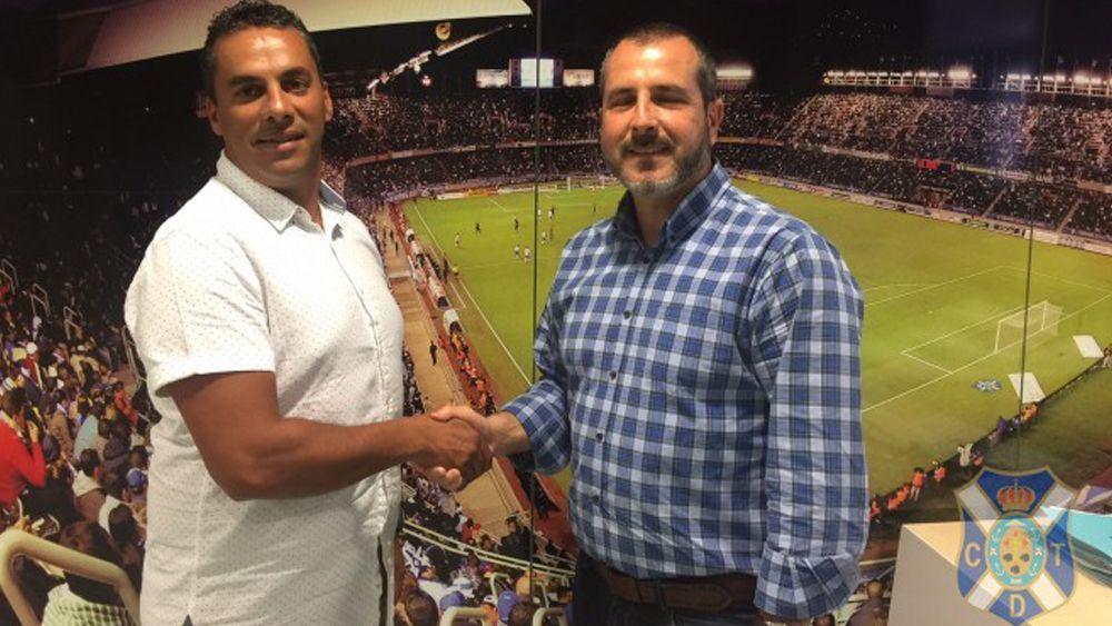 Mazinho firma por una temporada con el CD Tenerife B