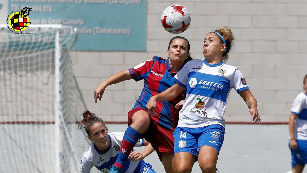 Dos goles de la UDG Tenerife para hacer historia en Copa de la Reina