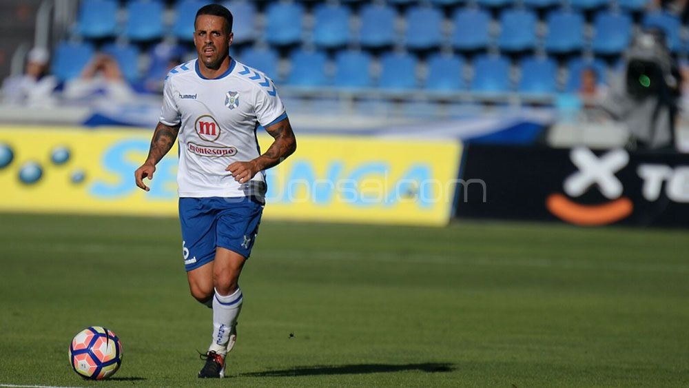 El agradecimiento de Vitolo tras la clasificación del CD Tenerife para el playoff