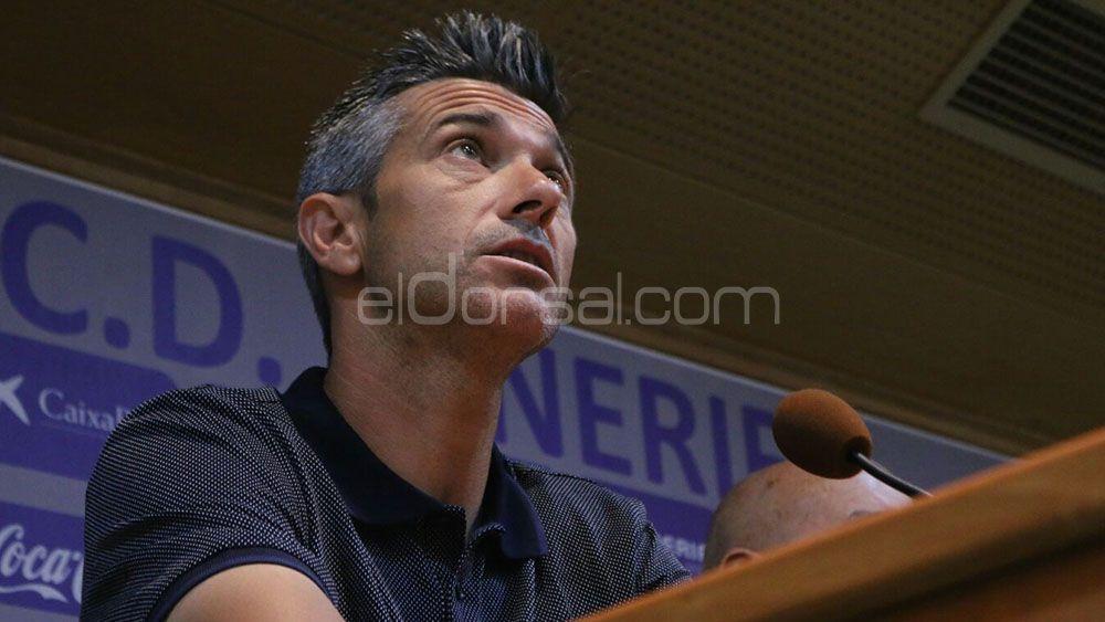 """Martí: """"El proyecto es ambicioso, ya sea en Primera o en Segunda División"""""""