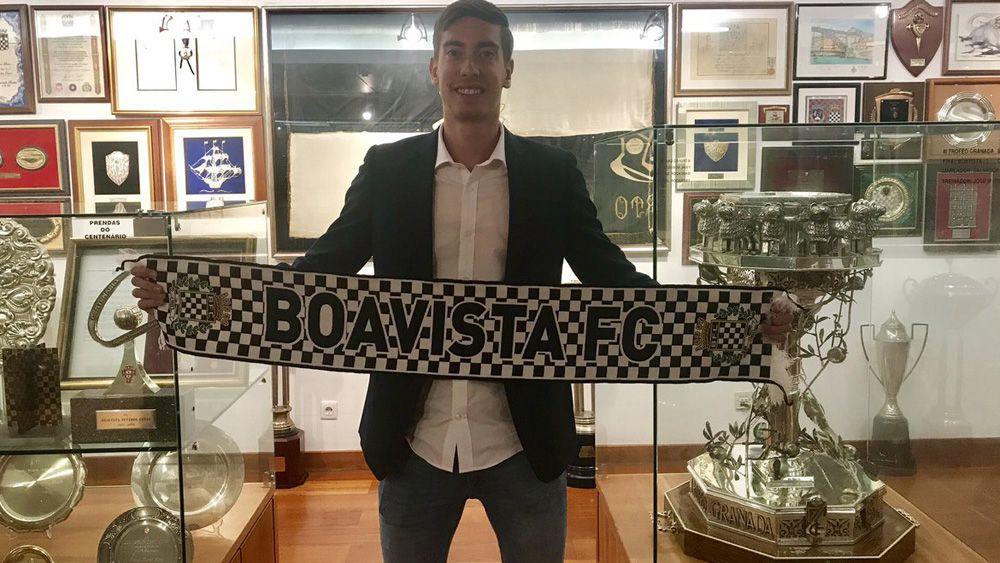 El tinerfeño Álex Gorrín ficha por el Boavista de la Primera División portuguesa