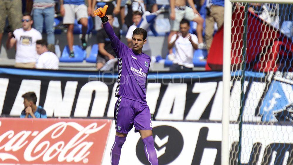 """Dani: """"Ángel quiere que al CD Tenerife le vaya bien, a veces se da demasiada importancia a un descuido"""""""