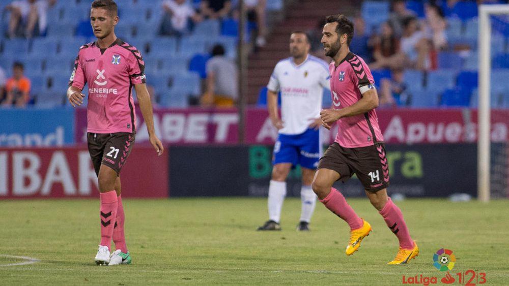 El CD Tenerife, el equipo con menos derrotas de Segunda División junto al Levante