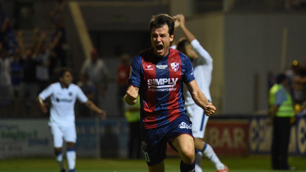 La SD Huesca remonta y llega vivo al partido de vuelta ante el Getafe