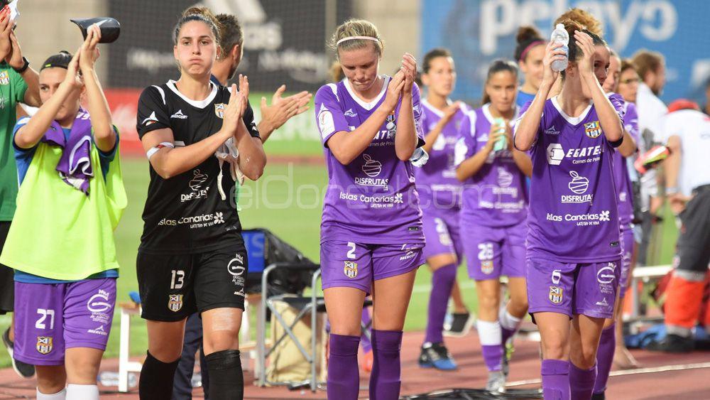 La UDG Tenerife se despide de la Copa de la Reina con la cabeza alta