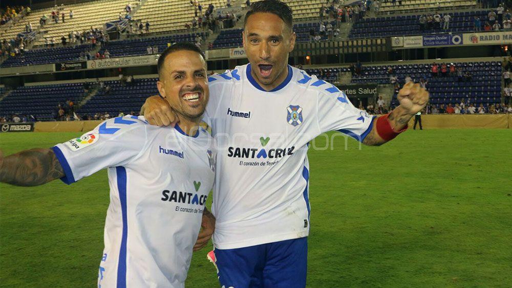 Suso y Vitolo celebran la clasificación