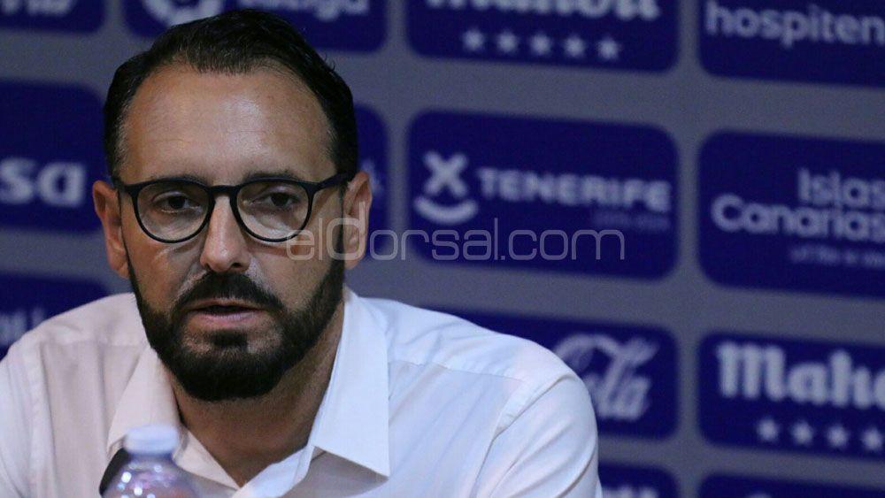"""Bordalás: """"El CD Tenerife es un gran equipo, pero en Getafe haremos un gran partido y ascenderemos"""""""