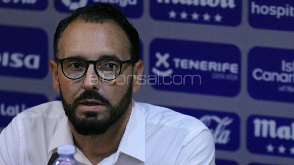 """Bordalás: """"Espero que no haya interrupciones y que el CD Tenerife no pierda tiempo"""""""